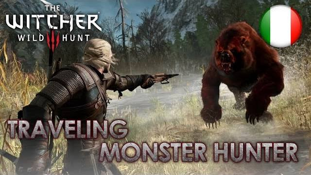 The WItcher 3 trailer monster hunter