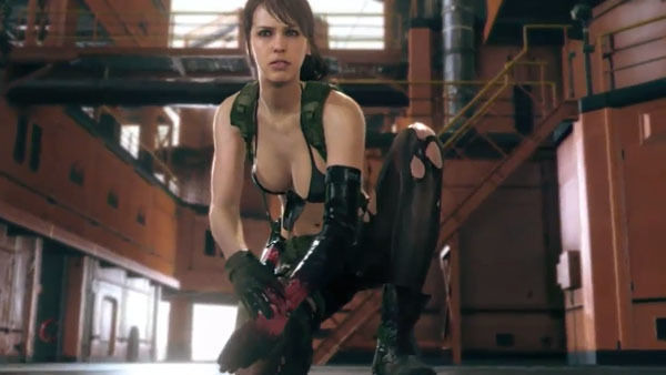 The phantom pain quiet