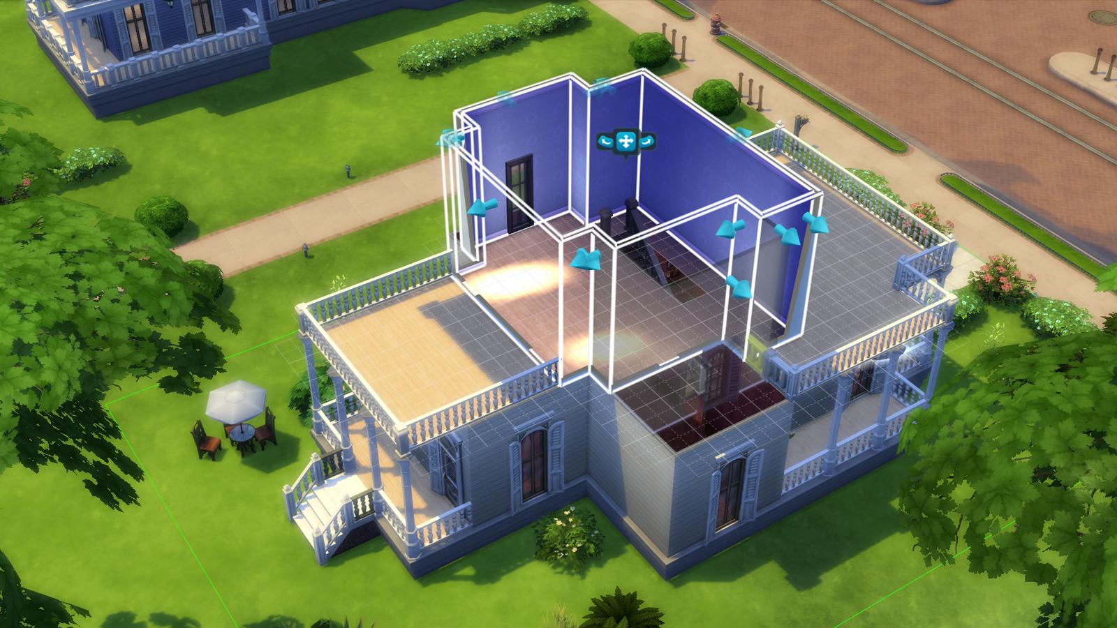 The sims 4 costruzione case