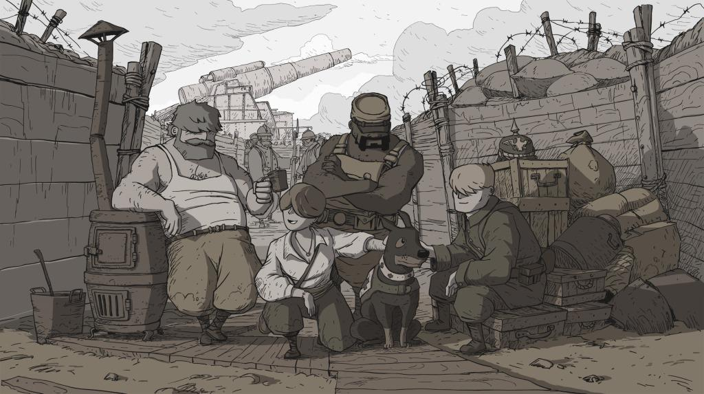 Valiant Hearts - Versione iOS - Team