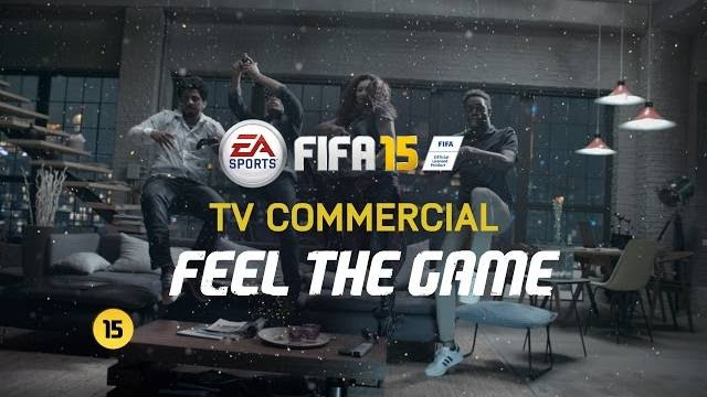 fifa 15 commercial feel the game