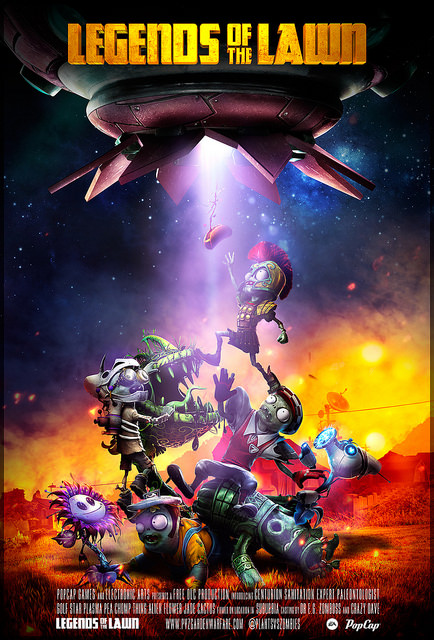 legends of the lawn plants vs zombies garden warfare