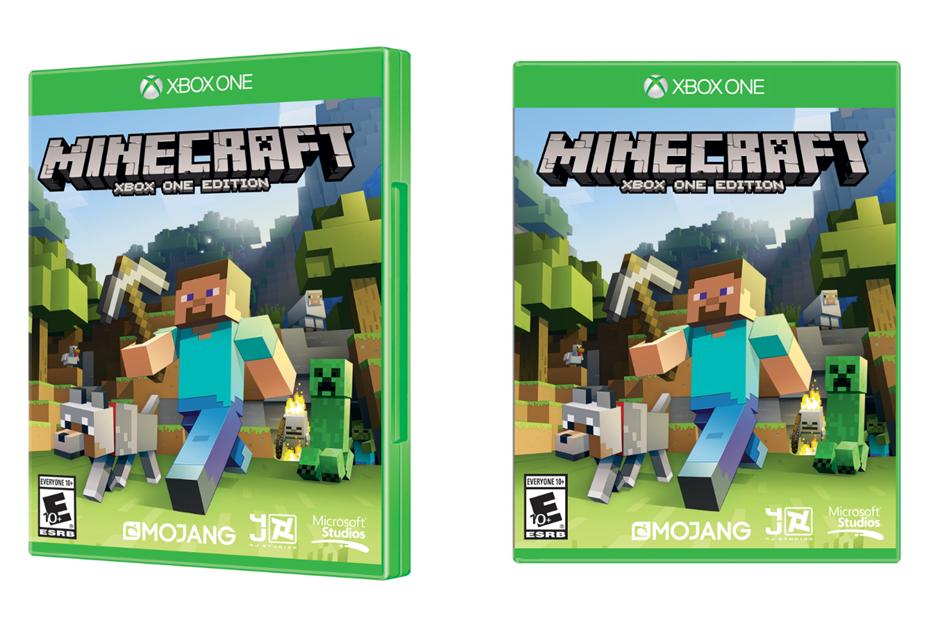 minecraft xbox one copertina