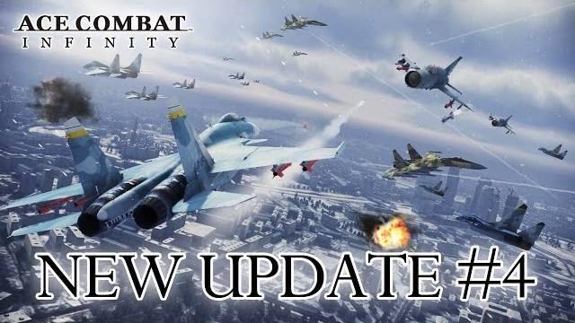 Ace combat infinity aggiornamento 4