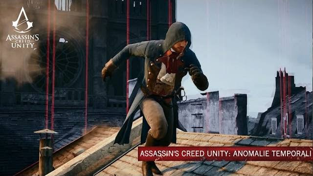 Assassin's Creed Unity anomalie temporali