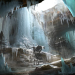Assassin's creed rogue-preview-concept-icecavewaterfall