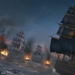 Assassin's creed rogue-preview-screenshot-louisburg-battle-facing-enemy-ships