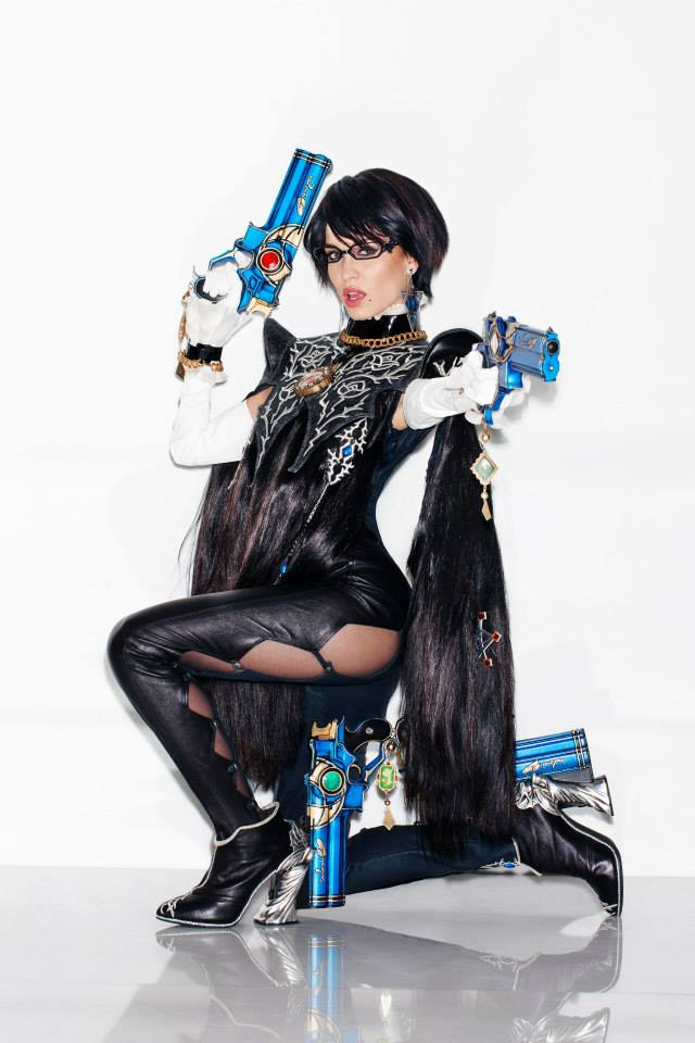 Bayonetta 2 cosplay playboy 2610 5