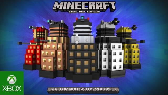 Doctor Who Skin Pack volume 1 minecraft