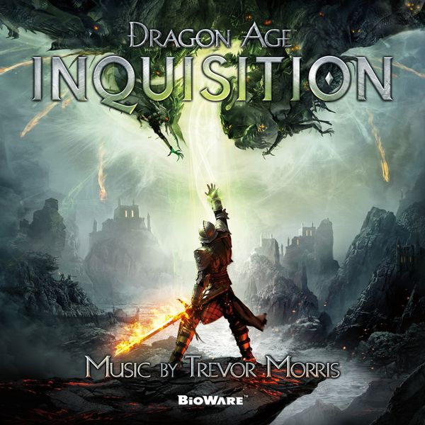 Dragon Age Inquisition copertina colonna sonora Trevor Morris