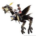 Final Fanasy-flying-black-chocobo