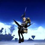 Final Fantasy XIV-flying-black-chocobo-2