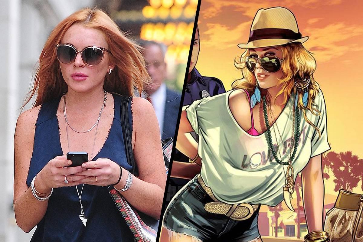 Lindsay-Lohan-GTA-V