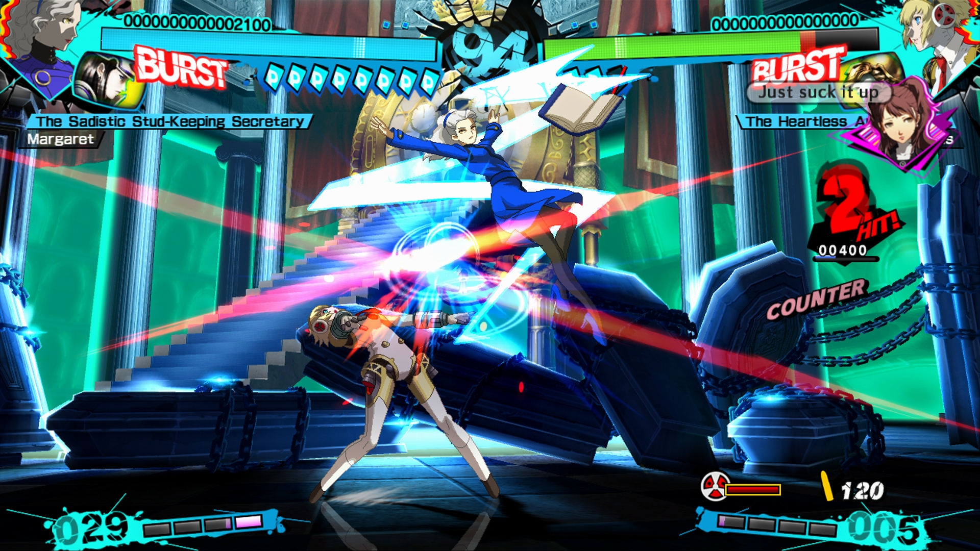 Persona 4 Arena Ultimax 2110