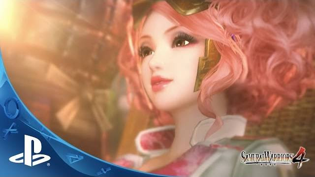 samurai warriors 4 trailer di lancio