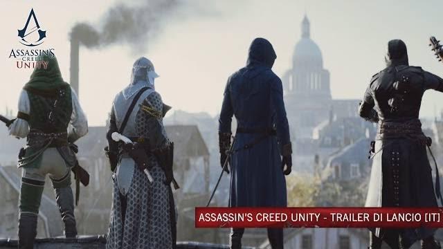 Assassin's creed Unity trailer di lancio