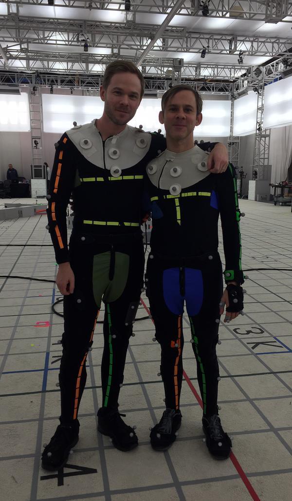 Shawn Ashmore e Dominic Monaghan