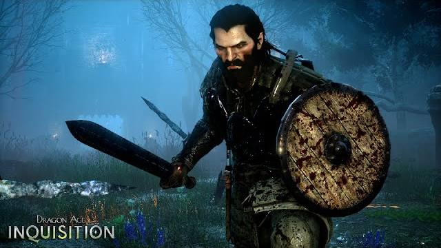 Dragon Age i seguaci Varric e Blackwall trailer