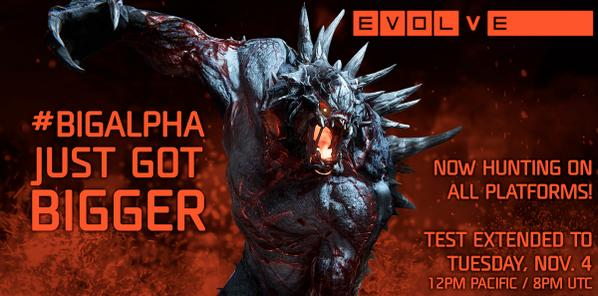 Evolve Big Alpha PS4 avaiable
