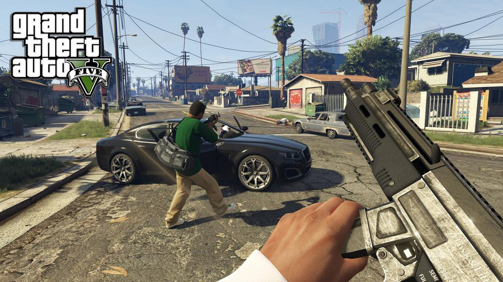GTA V Next-Gen first person mode