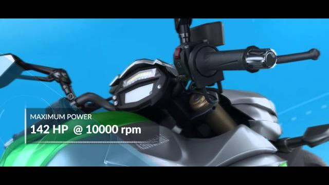 Ride kawasaki Z1000