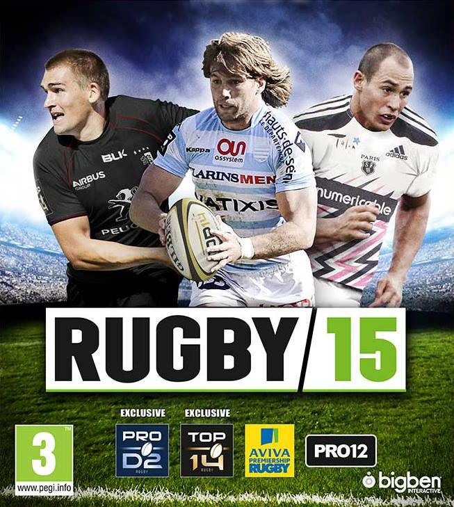 Rugby 15 packshots internazionale