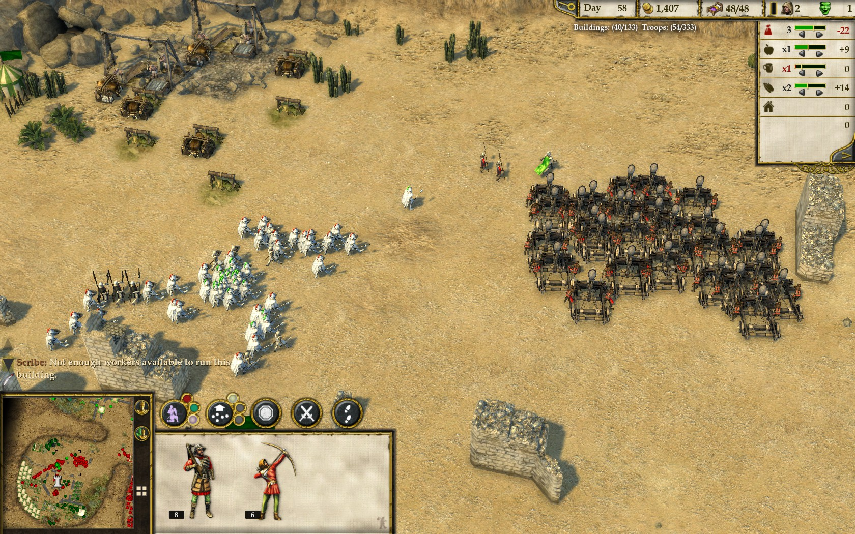 Stronghold Crusader 2 battaglia