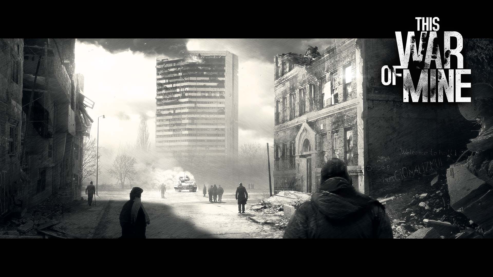 This War Of Mine concept art – Summer