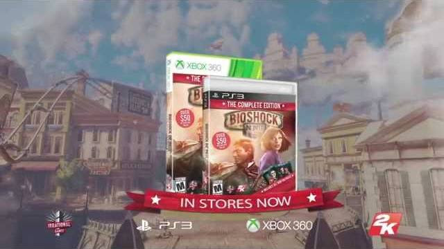 bioshock infinite the complete edition trailer di lancio
