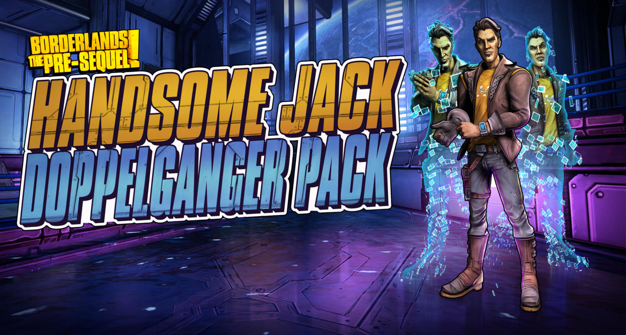 borderlands the pre-sequel dlc handsome jack doppelganger pack