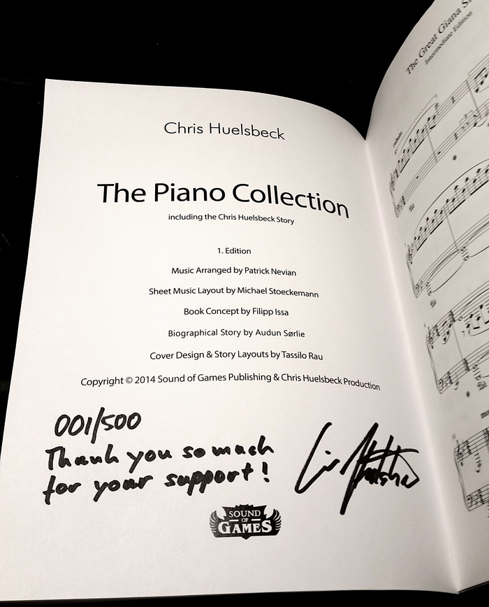 the piano collection 3011