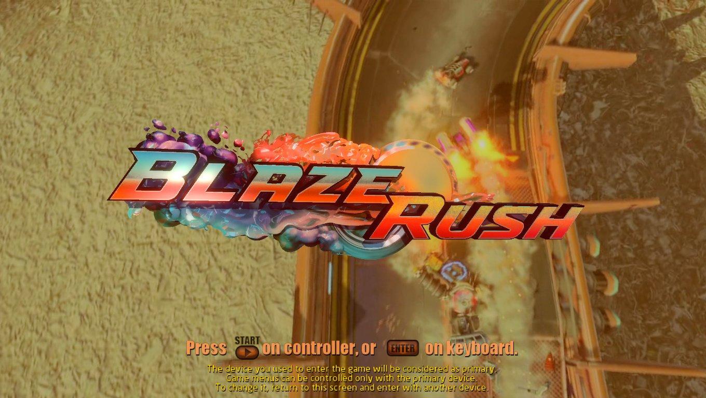 BlazeRush header