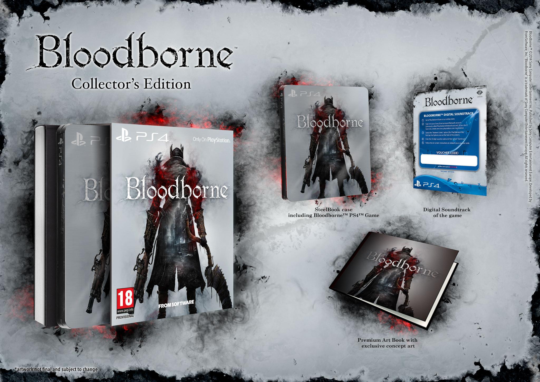 Bloodborne Collector's edition 1112 1
