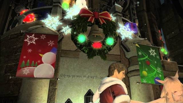 Final Fantasy XIV A Realm Reborn Winter Parade trailer