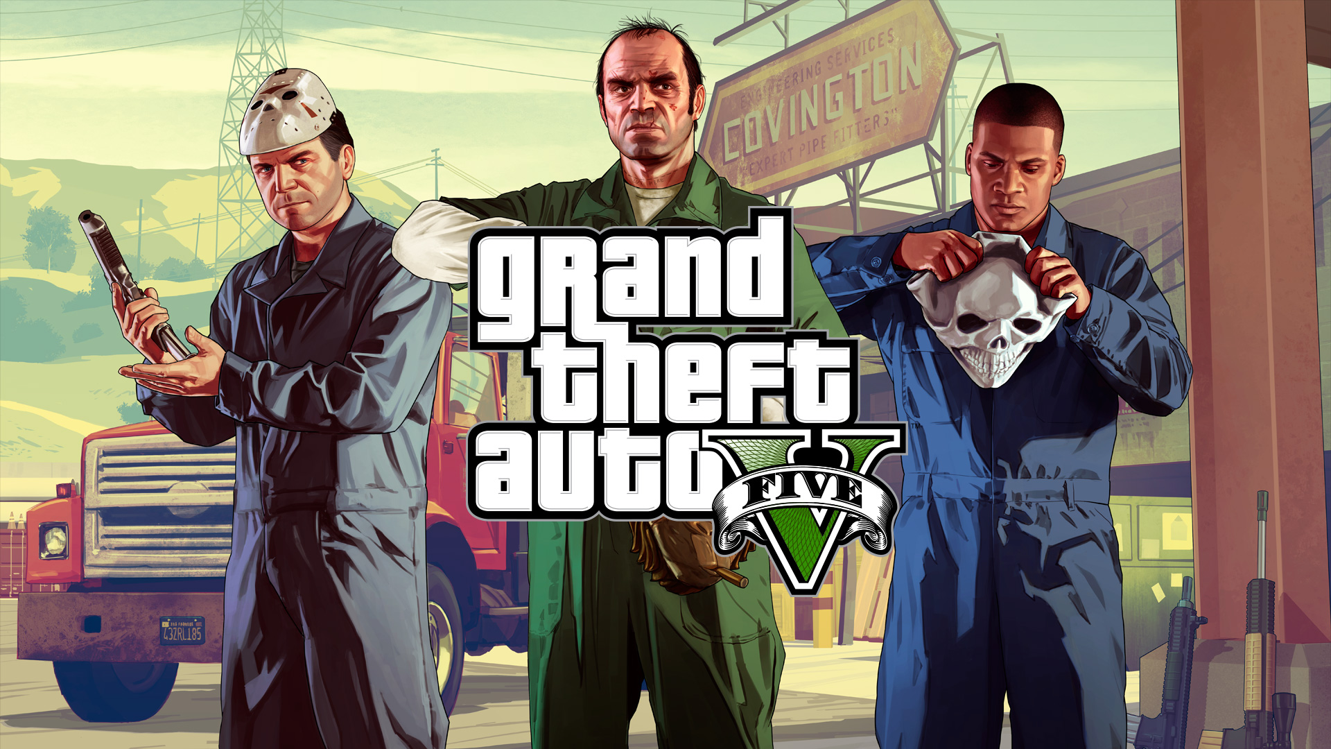 GTA V header