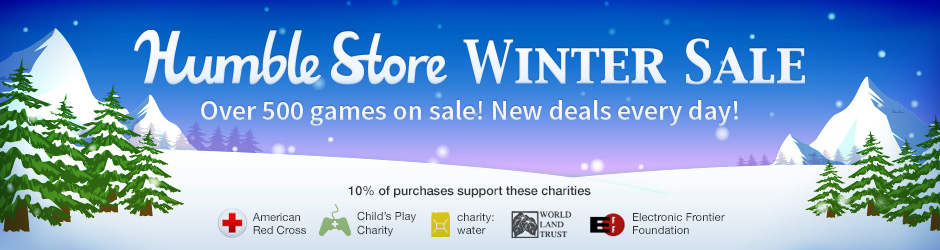 Humble Store winter sale 2014