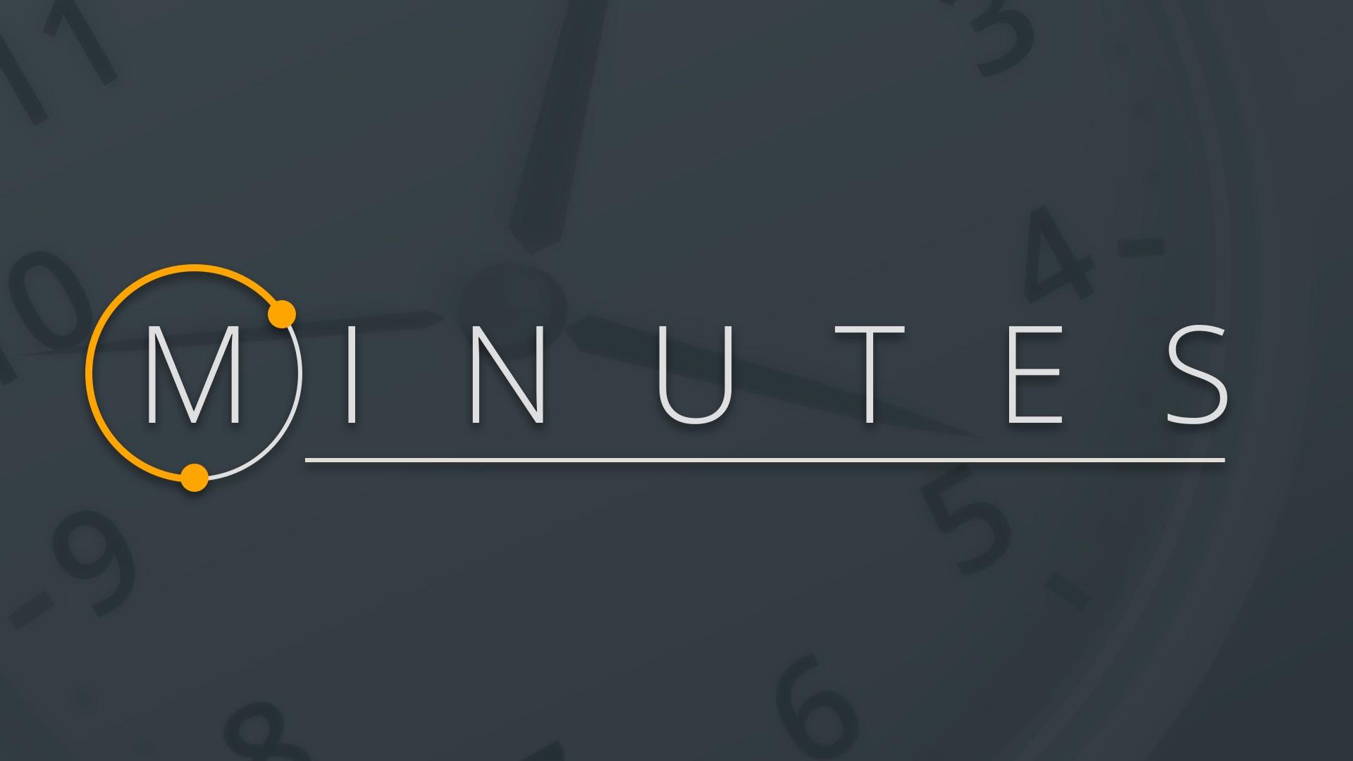 Minutes header