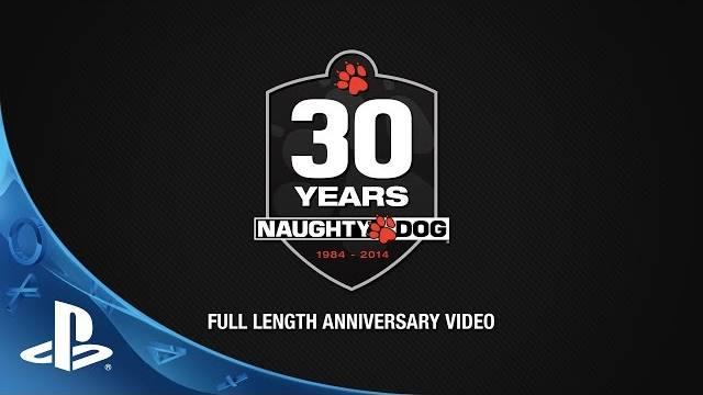 Naughty dog 30 th anniversary