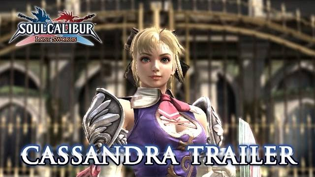 Soul calibur lost swords cassandra