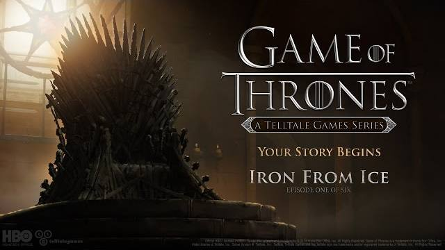 game of thrones ep one trailer lancio