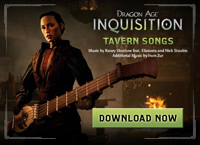 Dragon age inquisition bioware reagala alcune canzoni