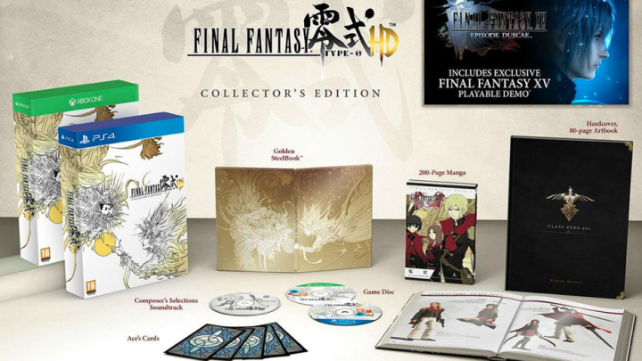 Final Fantasy Type-0 HD video sulla Collector's Edition