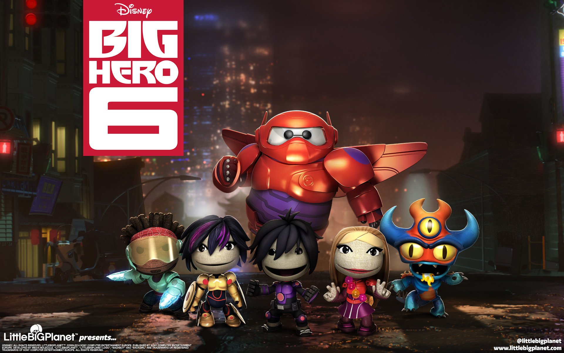 LBP 3 big hero 6 dlc