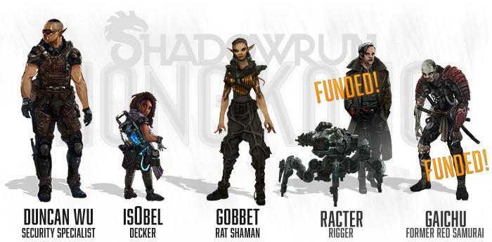 Shadowrun hong kong 1501 personaggi aggiornati