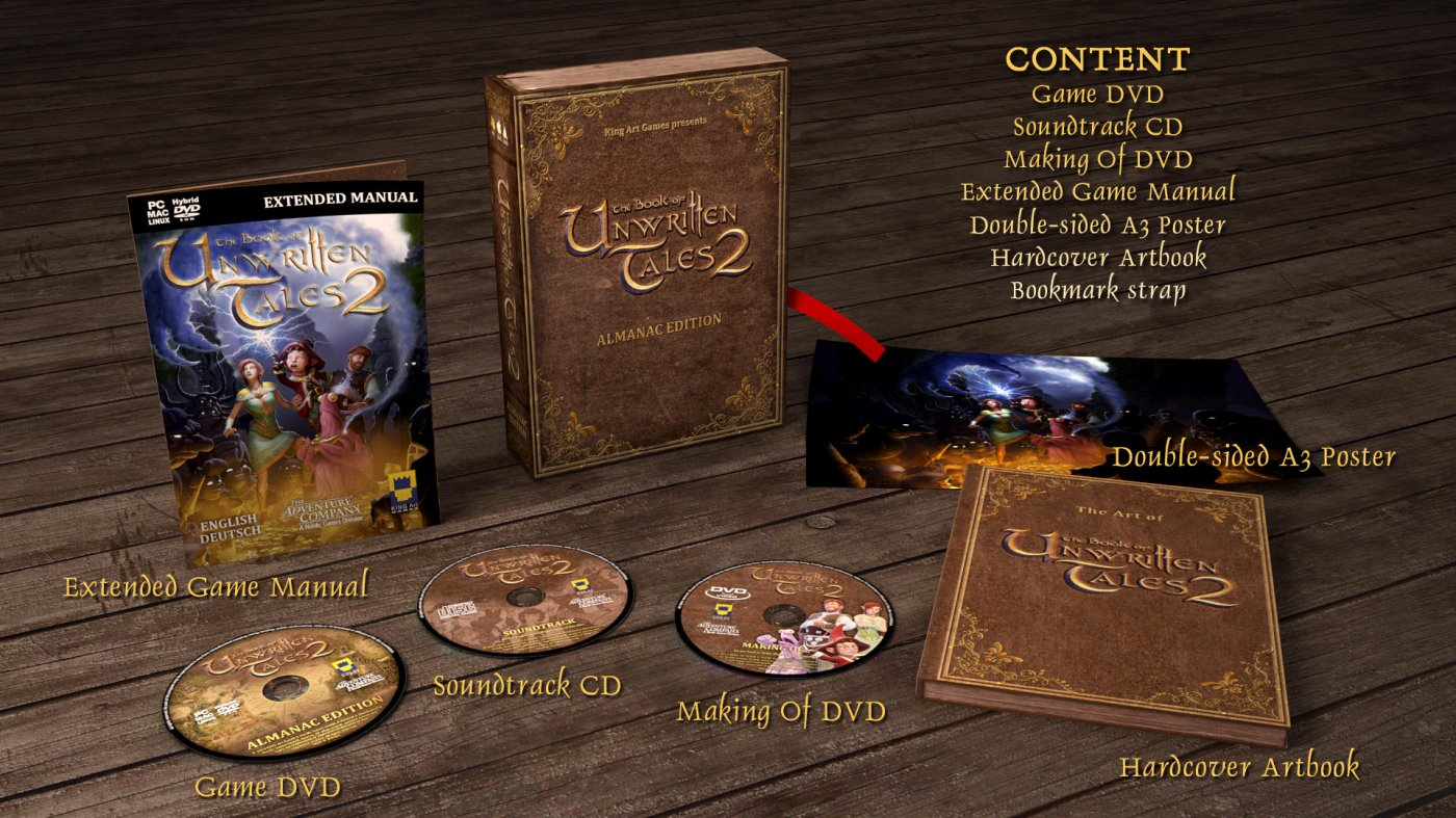 The Book of Unwritten Tales 2 Almanac Edition