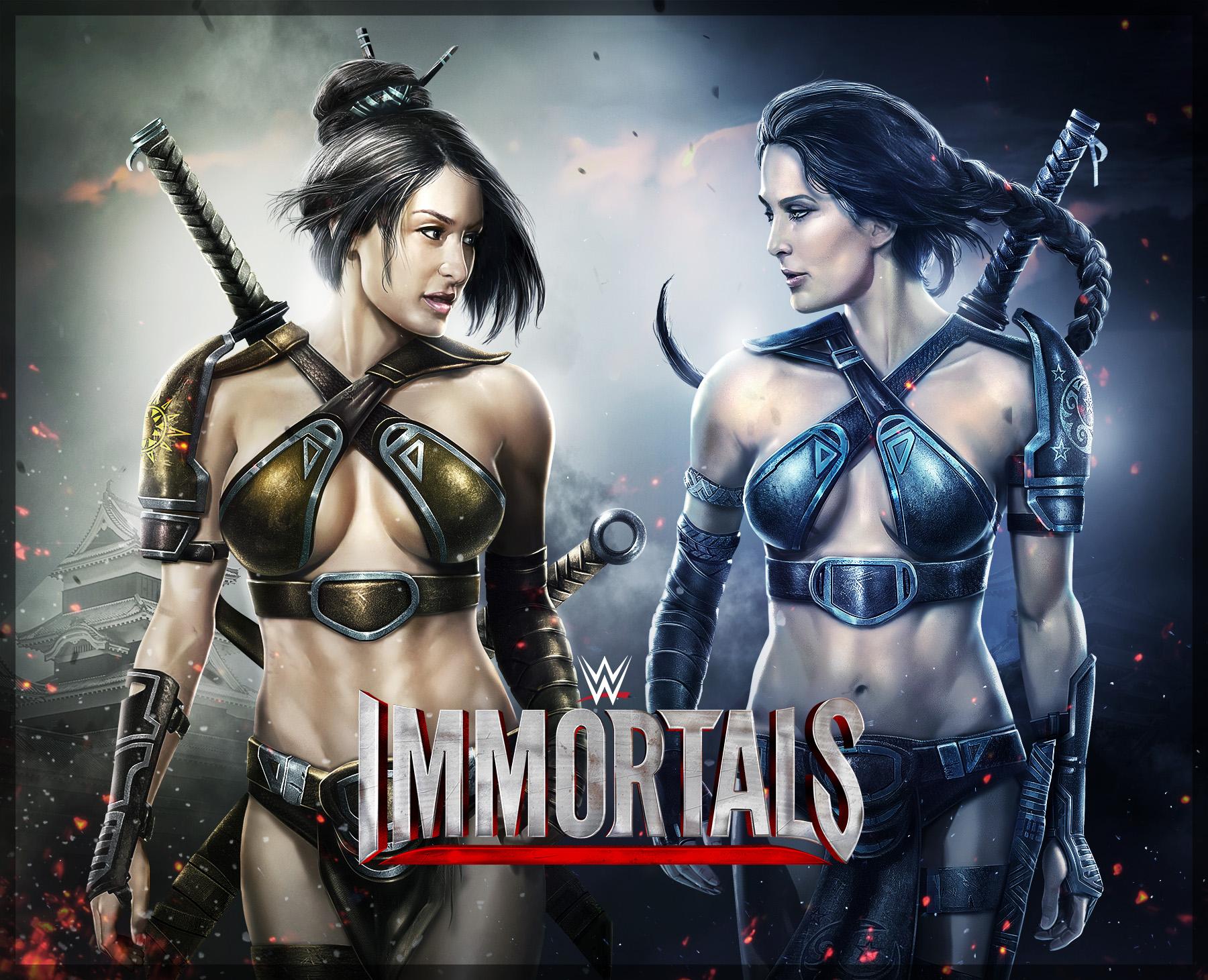WWE Immortals Bella Twins