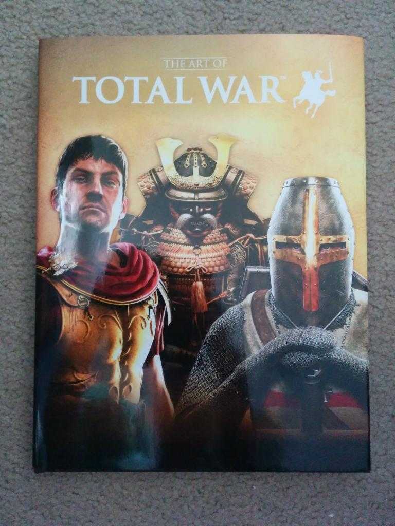 the art of total war book