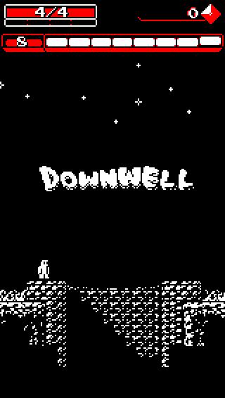Downwell – Screen 1
