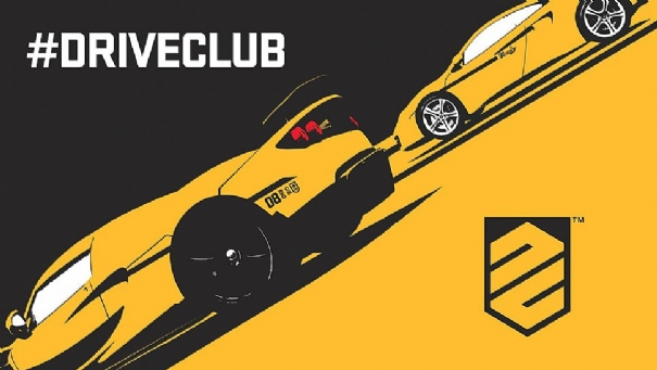 Driveclub logo yellow