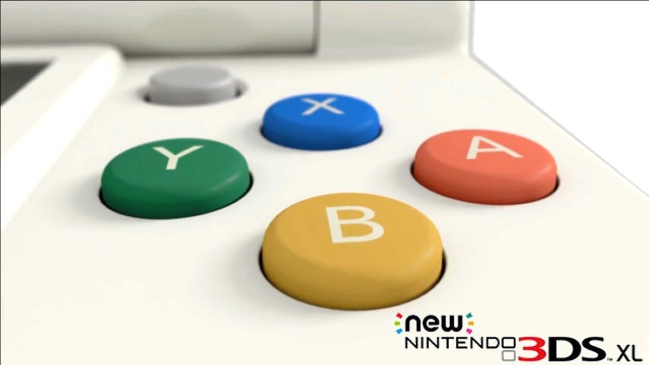New Nintendo 3ds xl dettaglio